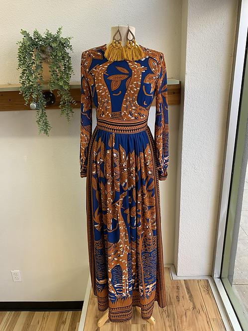 Floryday Giraffe Maxi Dress