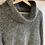 Thumbnail: Grey Cowl-neck Sweater