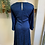 Thumbnail: NWT Eloquii Sapphire Blue Leopard Print Dress