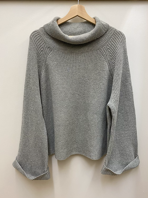 Oversized + Bell Sleeve Sweater