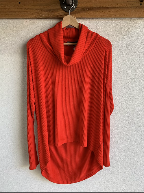 Anthropologie Slouch Light Knit Top