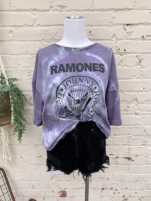 "Ramones Band Tee ""Mist"""