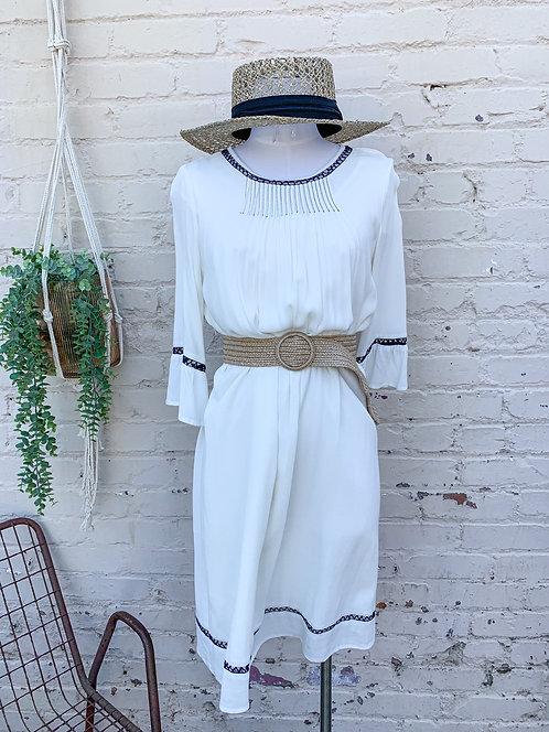 NWT Crotchet Detailed Shift Dress