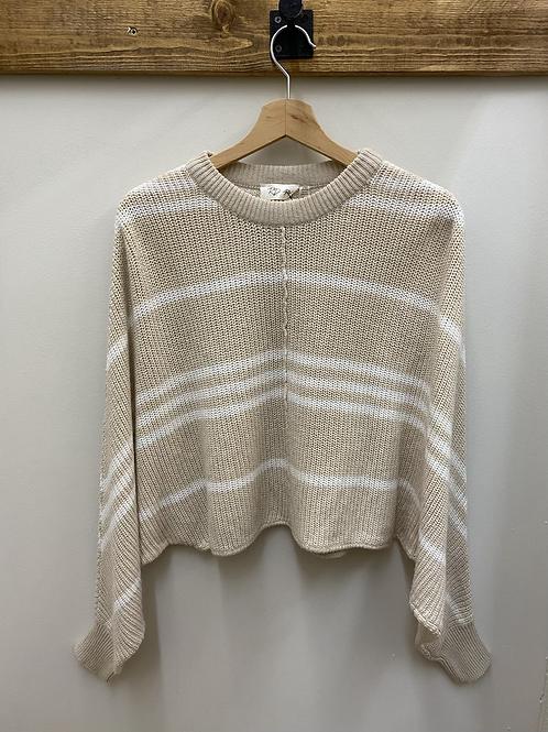 Oversized Wingbat Sweater