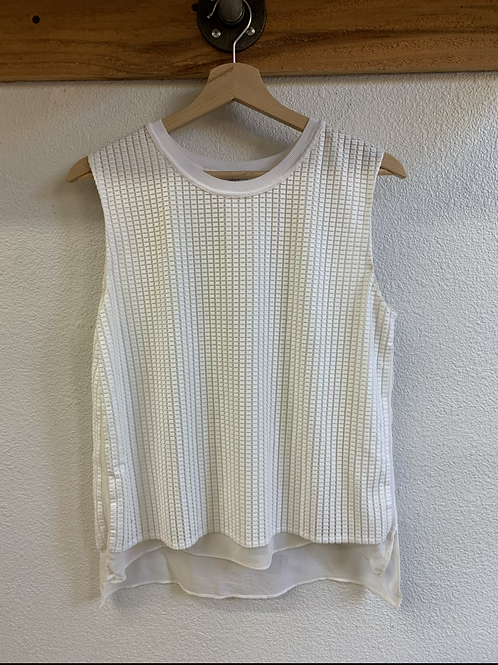 Vince. Textured Tank
