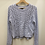 Thumbnail: Periwinkle Cable Knit Sweater