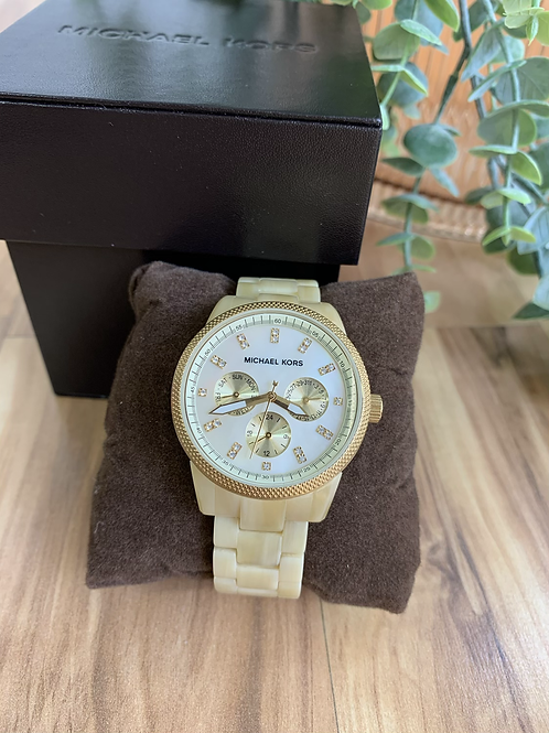 Michael Kors Jet Set Mother of Pearls Watch