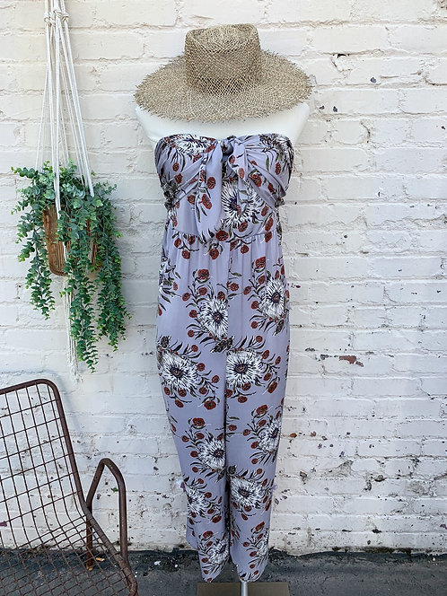 Madewell Strapless Jumpsuit