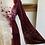 Thumbnail: Crushed Velvet + Tie-Dyed Dress