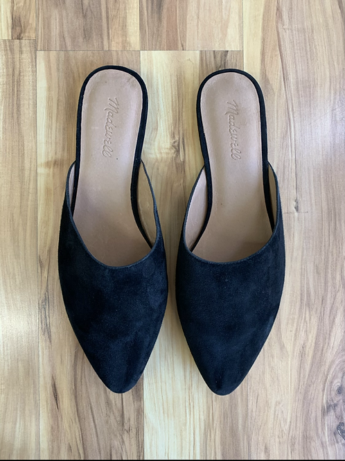 Madewell Suede Slides