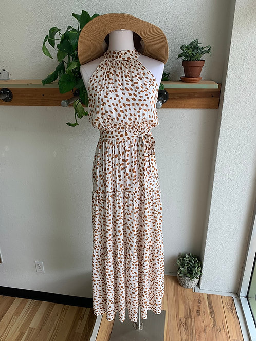 New Carmel Speckled Dress