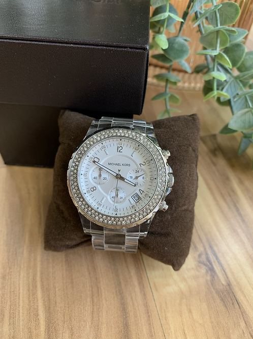 Michael Kors Clear Band Watch