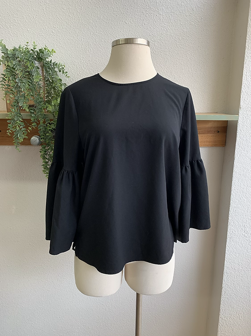 Who What Wear Bell Sleeve Blouse