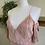 Thumbnail: Pleated Satin Pink Jumpsuit