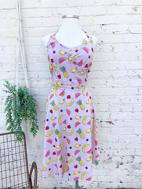Lindy Bop Halter Fruit Dress