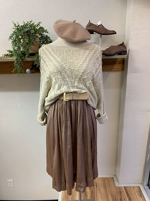NWT Button Shoulder Sweater