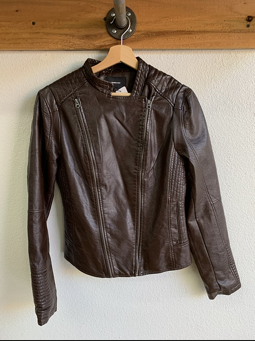 Memebers Only Vegan Leather Jacket