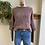 Thumbnail: Plush Violet Ruffle Sleeve Sweater