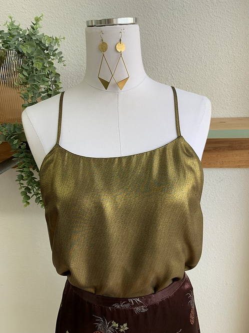 NWT Parker Gold Party Tank