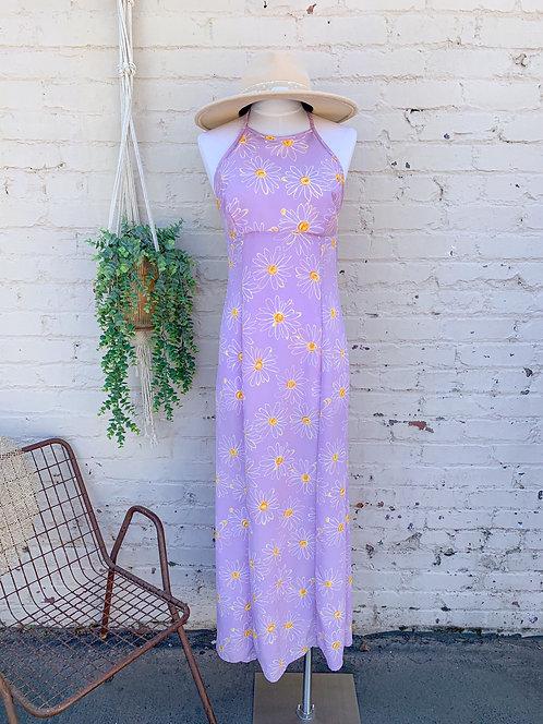 Vintage Daisy Maxi Dress
