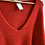 Thumbnail: Cherry Red V Neck Sweater