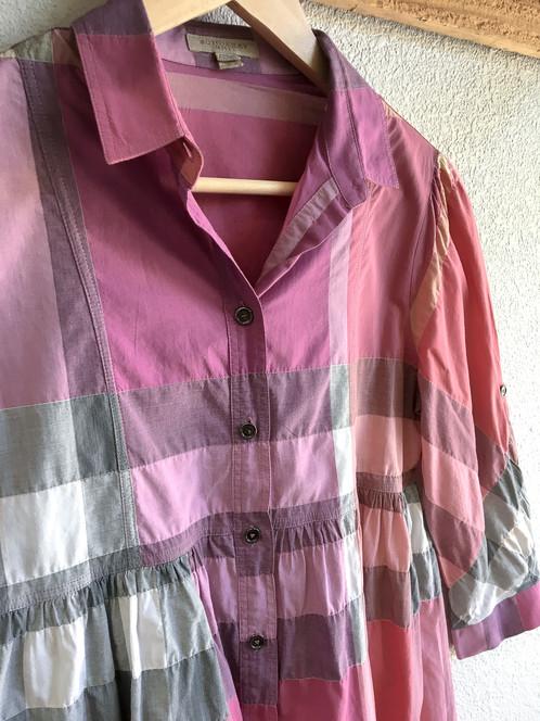 e768cd9c044 Burberry Brit Pink Plaid Tunic