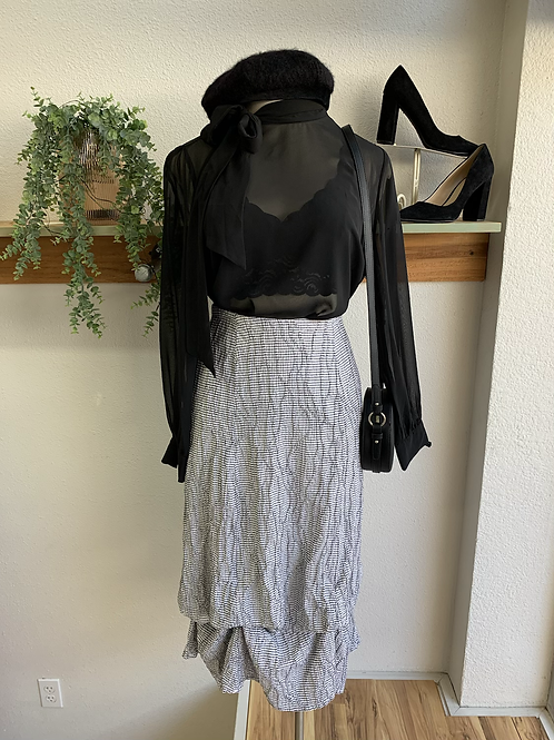 Cut Loose Maxi to Midi Skirt