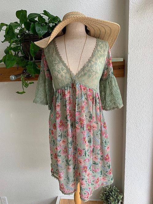 Boho Sheer Dress