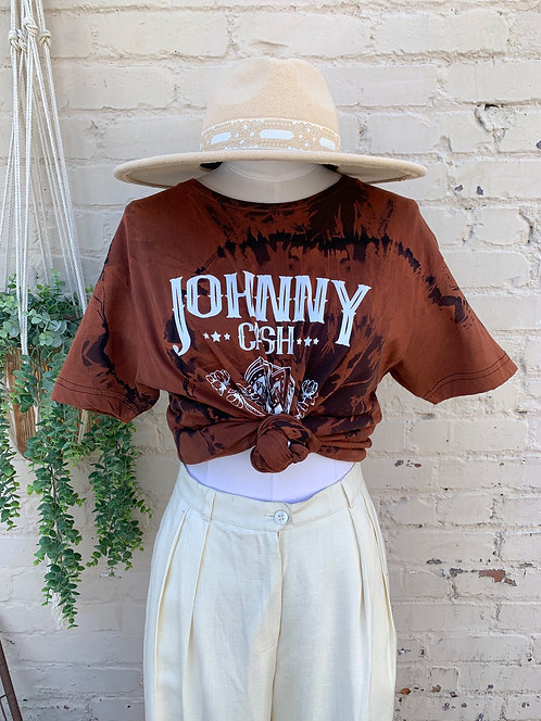 """Johnny Cash Band Tee """"Classic"""""""