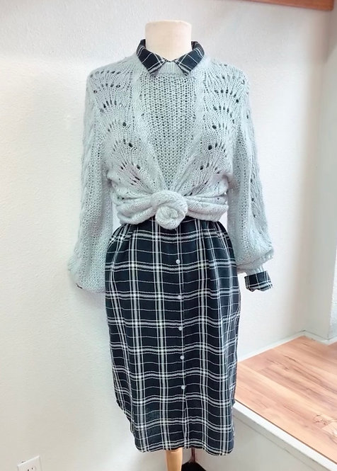 NWT Jessica Simpson Grey Sweater