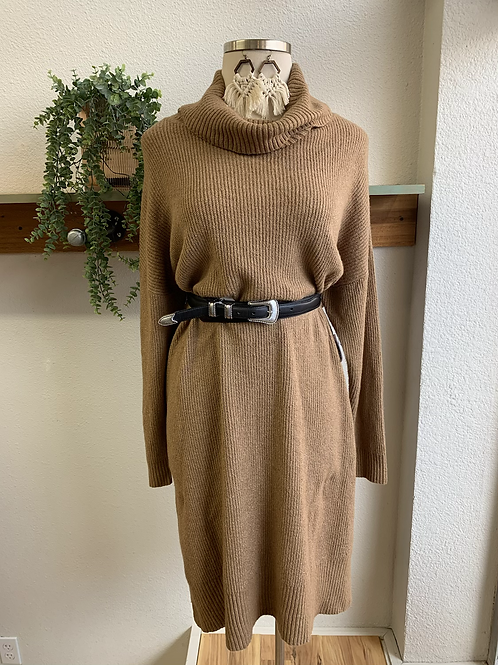 NWT Tan Sweater Dress
