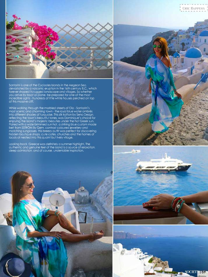 SENA DESIGN in the October 2016 Issue of Society Marbella Magazine