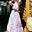 Thumbnail: CARMEN NECK SILK MAXI DRESS