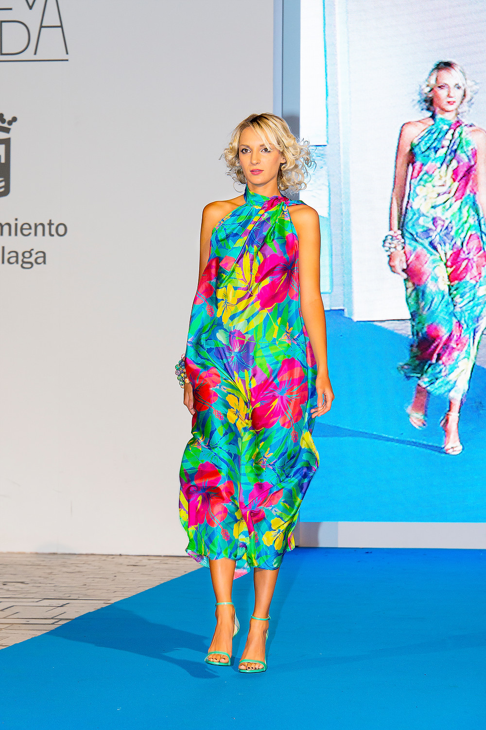 SENA DESIGN at Malaga Fashion Week 2015 Pasarela Larios