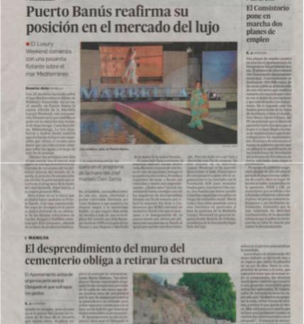 Malaga Hoy, June 2014
