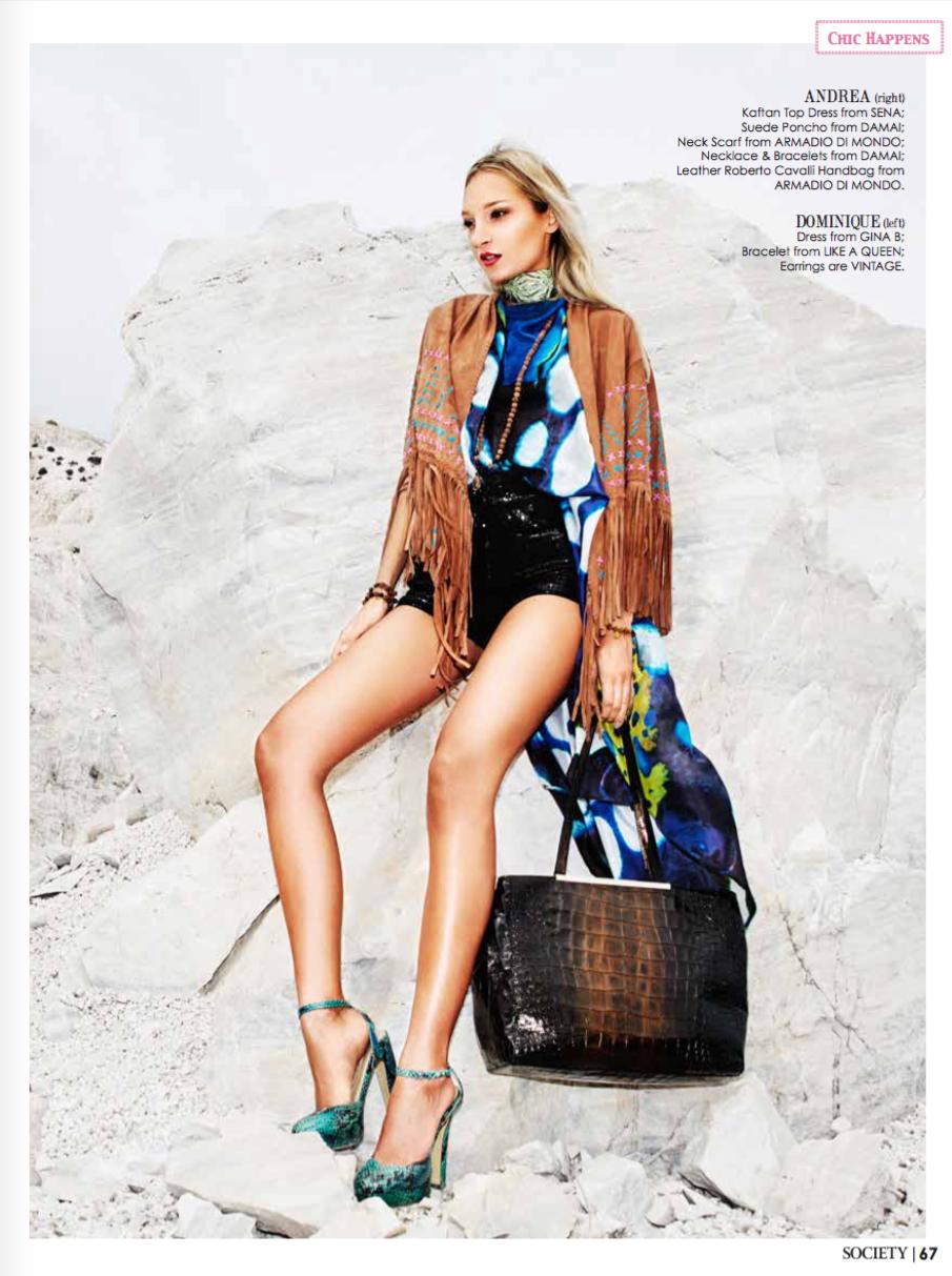 SENA DESIGN in the June 2016 Issue of Society Marbella Magazine