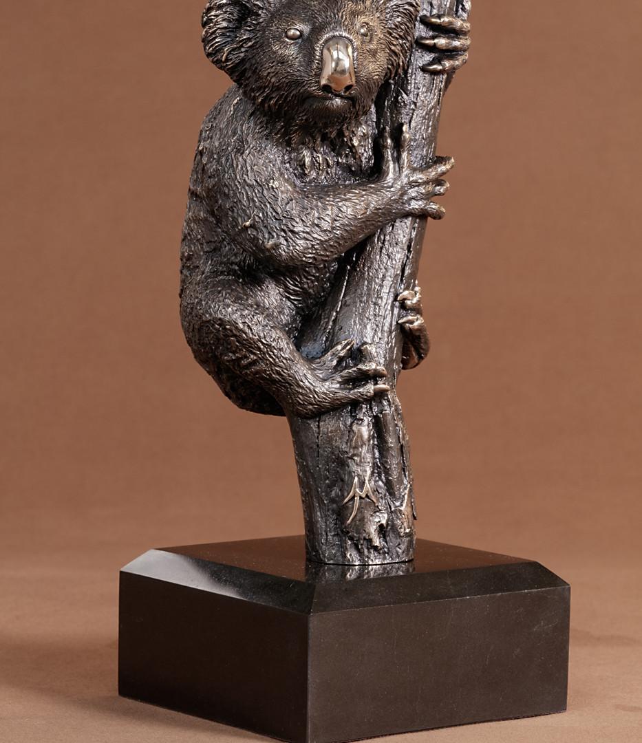 Koala in Tree Large Size Bronze culpture