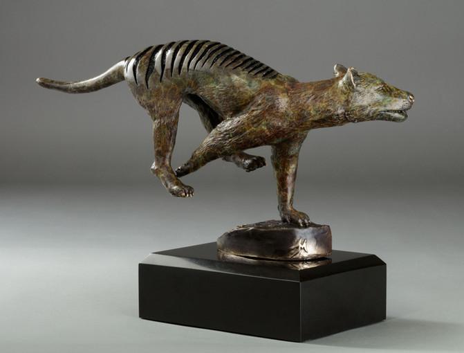 """Thylacine on a Hunt"""