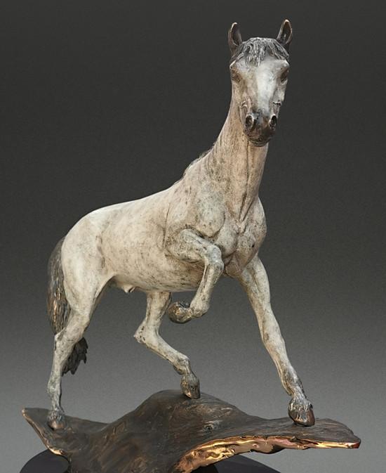 Horse Bronze Sculpture by Jake Mikoda
