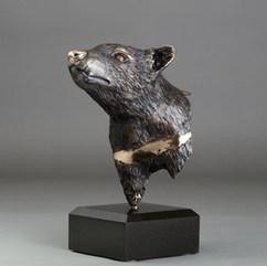 Tasmanian Devil Bronze Sculpture by Australian Artist Jake Mikoda