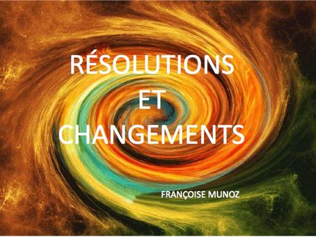 Résolutions et changement