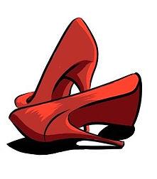 logo chaussures de l'héroïne