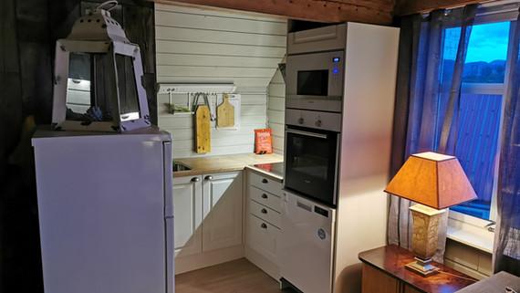 Kjøkkenkrok på The Pearl