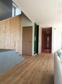interiør ingang til stue