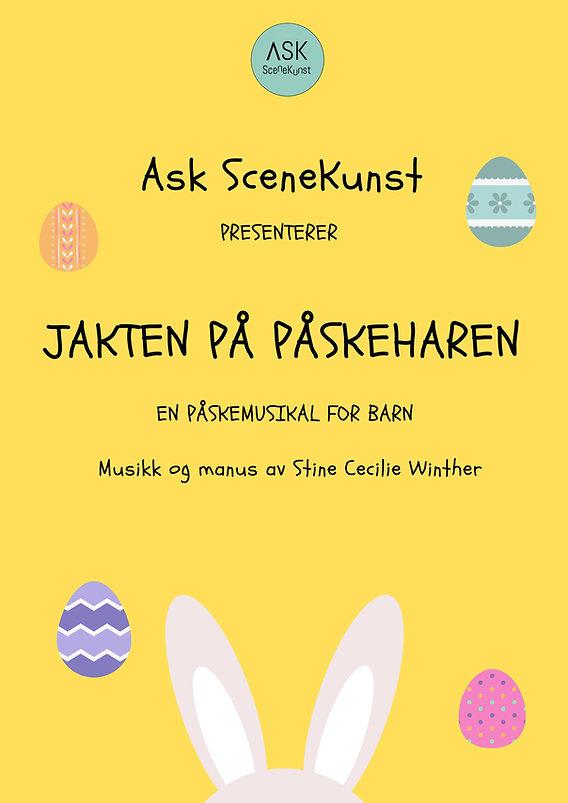 Plakat -JAKTEN PÅ PÅSKEHAREN.jpg