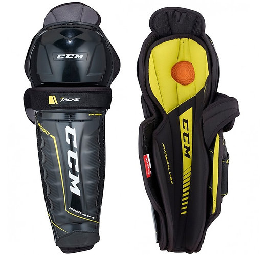 CCM TACKS 9080 SHIN GUARDS