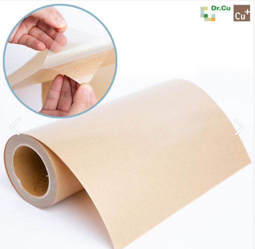 Dr.CU Antimicrobial Copper Film Sticker - Kills COVID 99% on the surface