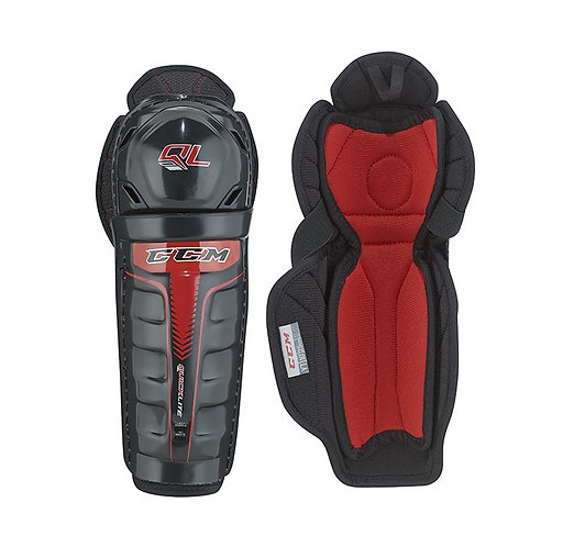 CCM QUICKLITE YOUTH SHIN GUARDS
