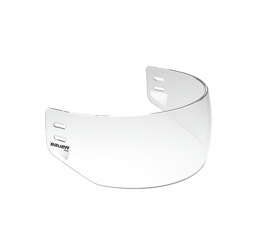 BAUER PRO STRAIGHT CLEAR VISOR