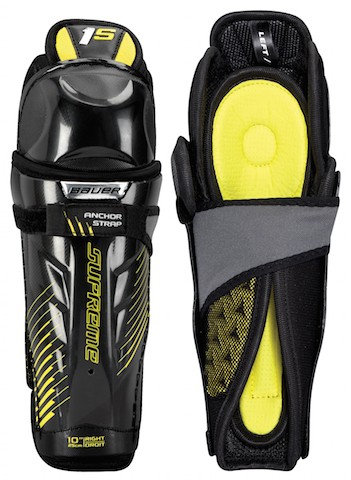 BAUER SUPREME 1S YOUTH SHIN GUARDS